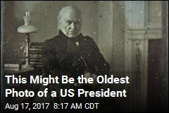 This Might Be the Oldest Photo of a US President