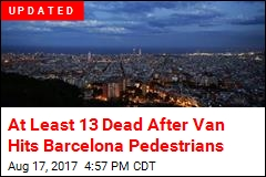 Van Plows Into Pedestrians in Barcelona