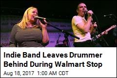 Belle & Sebastian Forgets Drummer in a Walmart