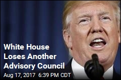 Trump Disbands 3rd White House Advisory Council