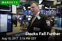 Stocks Fall Further