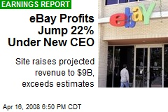 eBay Profits Jump 22% Under New CEO