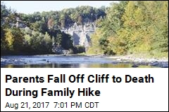 Parents Fall Off Cliff to Death During Family Hike