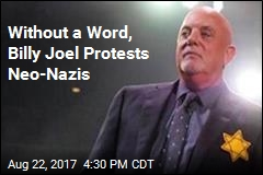 Billy Joel Quietly Protests Neo-Nazis