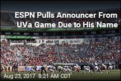 ESPN Pulls Announcer From UVa Game Due to His Name