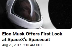 Hot Off the Cosmos Runway: New SpaceX Spacesuit