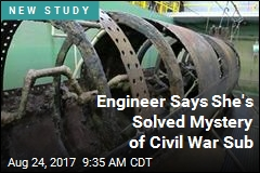 Engineer Says She's Solved Mystery of Civil War Sub