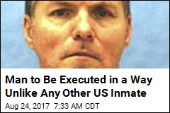 Man to Be Executed in a Way Unlike Any Other US Inmate
