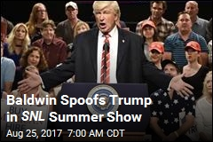 Baldwin Returns as Trump for SNL Summer Show