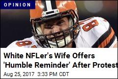 Don't Turn My NFL Husband Into a 'White Savior'