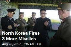 North Korea Fires 3 More Missiles