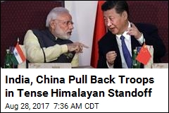 India, China Pull Back Troops in Tense Himalayan Standoff