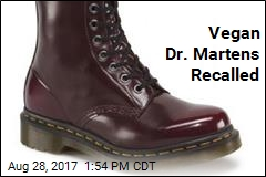 Vegan Doc Martens Recalled