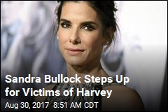 Sandra Bullock Donates $1M to Harvey Victims