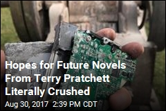 Hopes for Future Novels From Terry Pratchett Literally Crushed
