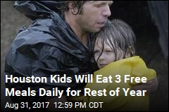 Houston Kids Will Eat 3 Free Meals Daily for Rest of Year