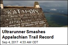 Ultrarunner Smashes Appalachian Trail Record