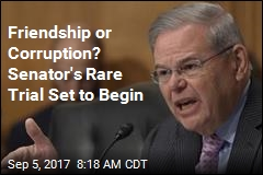 Friendship or Corruption? Senator's Rare Trial Set to Begin