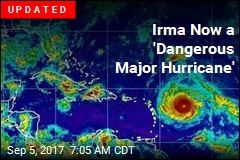 Irma Now a 'Dangerous Major Hurricane'