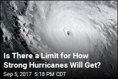 Is There a Limit for How Strong Hurricanes Will Get?
