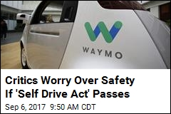 Fate of Self-Driving Cars to Go to House Vote