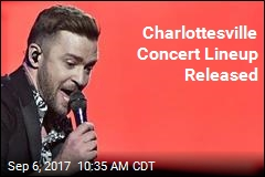 Justin Timberlake Will Sing for Charlottesville
