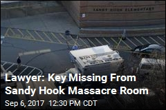 Lawyer: Key Missing From Sandy Hook Massacre Room