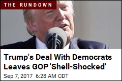 Trump's Surprise Deal With Dems Worries Republicans
