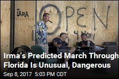 Irma's Predicted March Through Florida Is Unusual, Dangerous