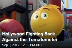 Hollywood Fighting Back Against the Tomatometer