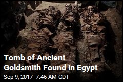 Tomb of Ancient Goldsmith Found in Egypt