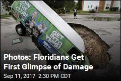 Photos: Floridians Get First Glimpse of Damage