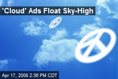 'Cloud' Ads Float Sky-High