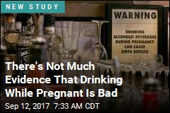 Light Drinking Harmful While Pregnant? There's Not Much Evidence