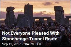 Not Everyone Pleased With Stonehenge Tunnel Route