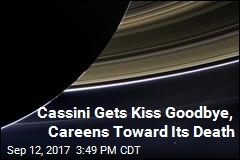 Fiery Death Looms for NASA's Cassini