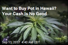 Hawaii Wants to Make All Pot Sales Cashless