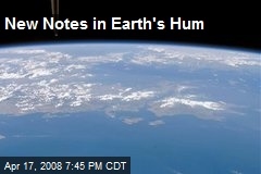 New Notes in Earth's Hum