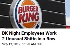 One Burger King, 2 Newborns, Many Shocked Workers