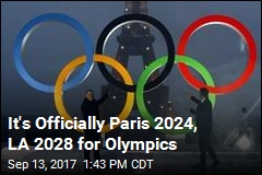 IOC Makes It Official: Paris 2024, LA 2028