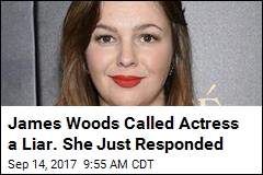 James Woods Called Actress a Liar. She Just Responded