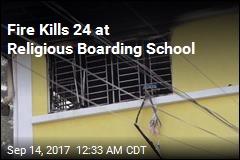 Fire Kills 24 at Religious Boarding School