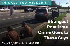 Cops: 2 Men Tried to Swipe Utility Pole Post-Irma