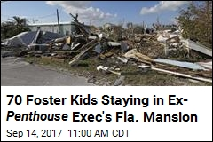 After Irma, 70 Foster Kids Stay in Ex- Penthouse Exec's Mansion