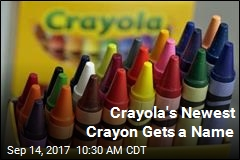 Crayola Names Its Newest Color