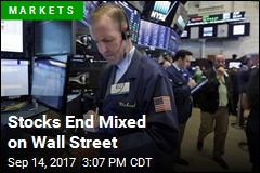 Stocks End Mixed on Wall Street