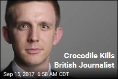 Crocodile Kills British Journalist