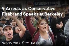 9 Arrests as Conservative Firebrand Speaks at Berkeley