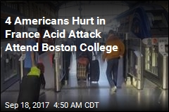 Americans Injured in France Acid Attack Attend Boston College