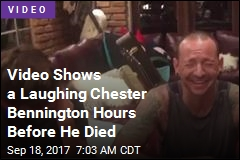 Video Shows a Laughing Chester Bennington Hours Before He Died